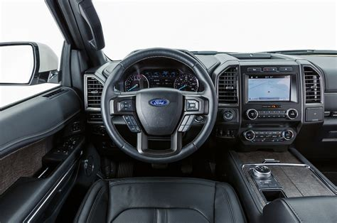 ford expedition 2018 interior 2018 ford expedition max limited interior review motor trend