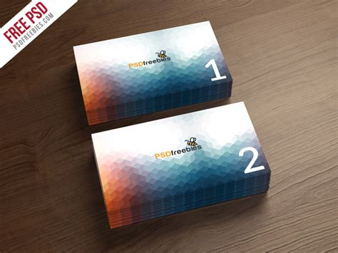 board card template psd business card mockup template free psd psdfreebies