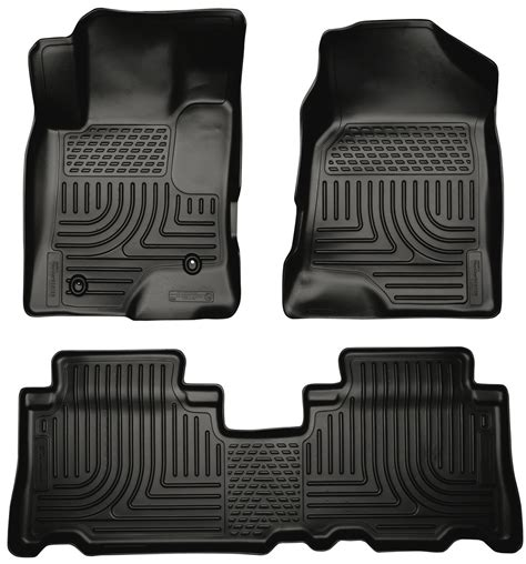 Husky Weather Mats by Husky Weatherbeater All Weather Floor Mats For 2012 2015