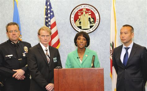 Da Office La by District Attorney Jackie Launches Environmental
