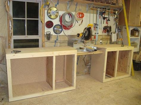 chop saw bench designs chopsaw bench by teresa mellon lumberjocks com