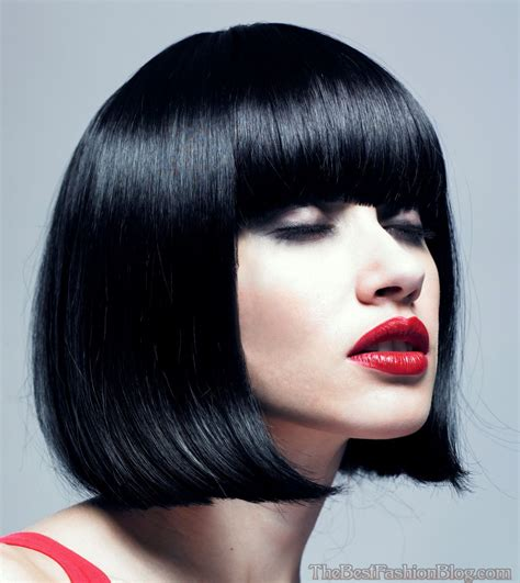 short a line hairstyles with bangs 2014 short hairstyles short a line bob with bangs newhairstylesformen2014 com
