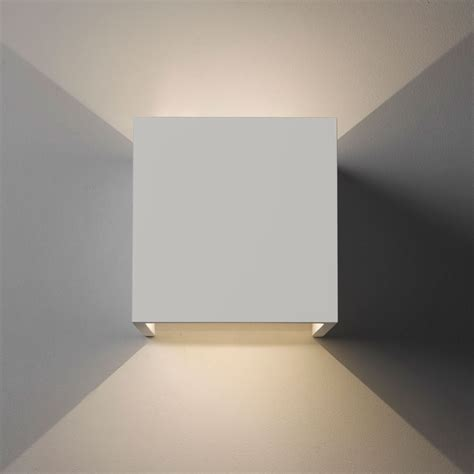 astro pienza 3000k plaster led wall light at uk electrical