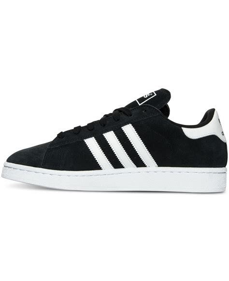 adidas originals s cus suede casual sneakers from finish line in black for lyst