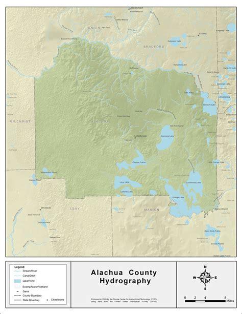 alachua county florida waterways alachua county 2008