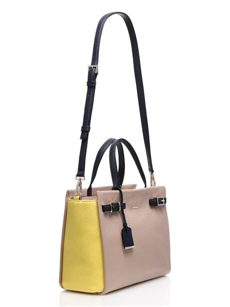 kate spade new york 1419713922 lyst kate spade new york holden street lanie in natural