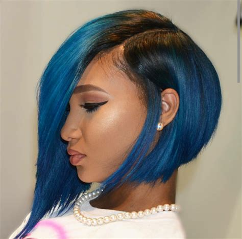 long bobs in the back on black people 20 mujeres morenas que rompen reglas con cabello de colores