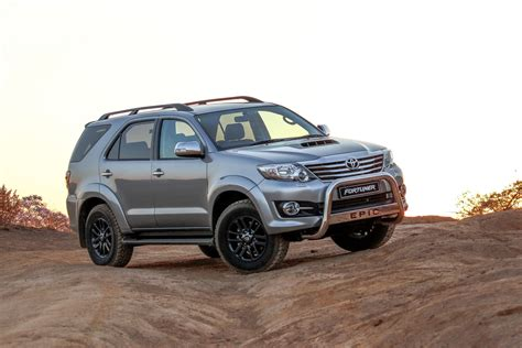 Toyota Fortuner Road Driven Toyota Fortuner Epic