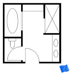 How To Design A Bathroom Floor Plan by Master Bathroom Floor Plans