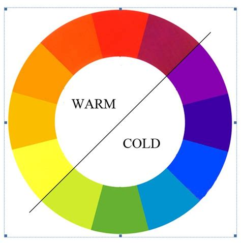 17 best images about warm and cool on colour
