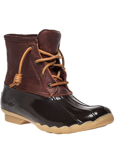 sperry boots sperry top sider saltwater water resistant boots in