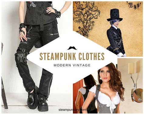 Modern Victorian Decor Steampunk Clothes