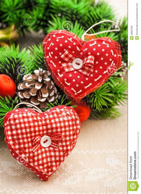 Handmade Hearts - handmade hearts for decor royalty free stock