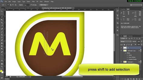 professional logo design photoshop logo tutorial