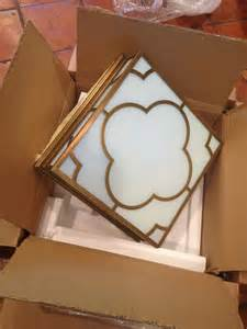 Quatrefoil Ceiling Light Our New Light My For Quatrefoil Design Driven By Decor