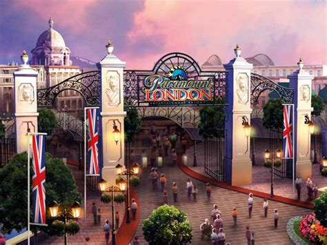 themes park in london london paramount entertainment resort disneyland rival