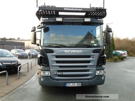 scania p380 specification scania p380 variotrans 2007 car carrier truck photo and specs