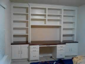 Bookshelves And Desk Built In Custom Cabinet Houston Built In Desk In The Heights Jared