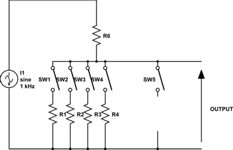 resistor divider attenuator 28 images stepped attenuator schematic capacitor schematic