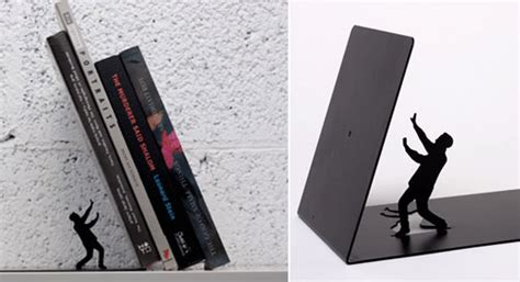 15 creative and modern bookends design design swan