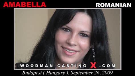 Cadting X by Set Amabella Woodmancastingx