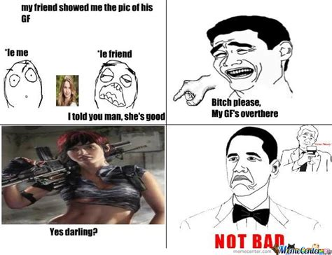 Badass Memes - badass gf by xerionicus meme center