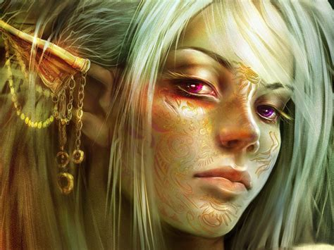 wallpaper elf girl elf wallpaper and background image 1600x1200 id 124108