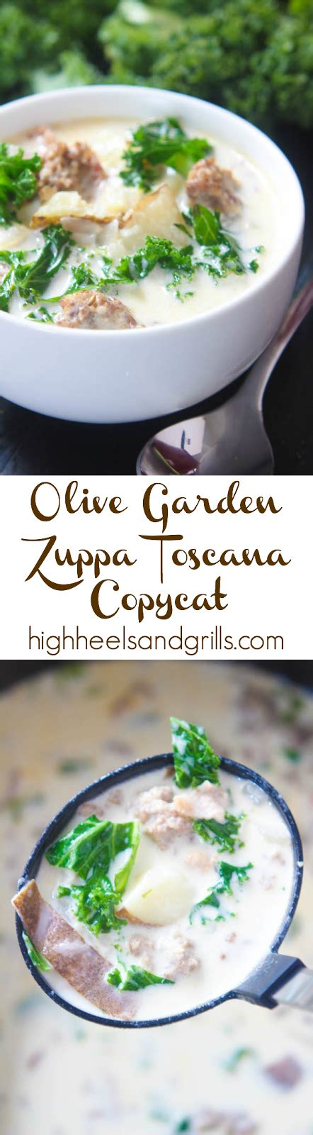 Olive Garden 2 For 20 by Olive Garden Zuppa Toscana Copycat High Heels And Grills