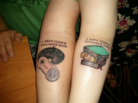 his and hers tattoo awesome his and hers tattoos