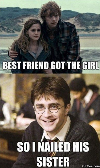 Funny Harry Potter Meme - harry potter hump day stubborn thoughts