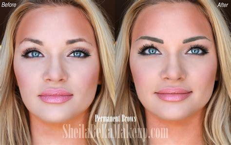 watch model tara booher s eyebrow transformation sheila
