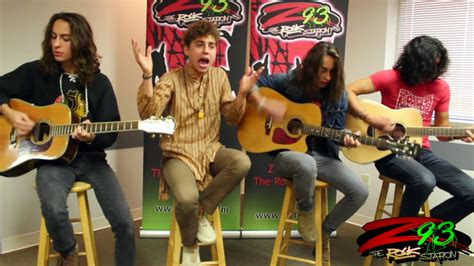 greta van fleet ukulele greta van fleet performs flower power in the z93 studios