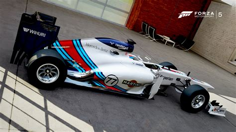 martini livery f1 martini williams concept livery made on forza 5