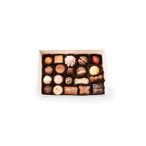 Handmade Chocolate Gifts - twenty assorted chocolate gift box s handmade