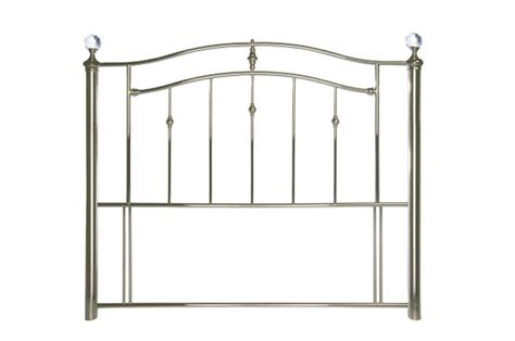 double metal headboard limelight callisto 4ft6 double chrome metal headboard with