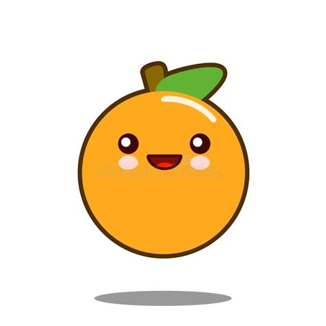 imagenes de naranjas kawaii dise 241 o plano de la fruta del personaje de dibujos animados