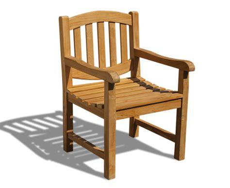 Wooden Garden Armchair by Garden Chairs Archives Teak