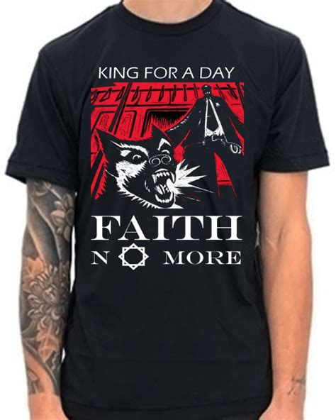 Aith No More King For A Day 95 Mike Patton Mr Bungle Size S tiendapunk ropacamisetaspunk zombies rock heavy ska