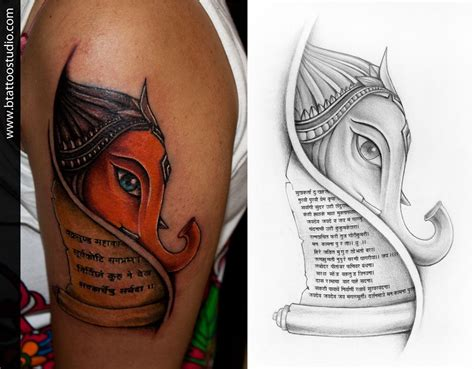 ganesh tattoos designs lord ganesha concept design and inked by at