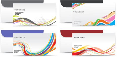 presentation layout ai envelope presentation template design vector free vector