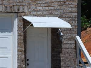door awnings aluminum door aluminum door canopy awning