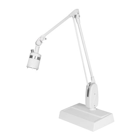 Light Desk L by Dazor Lumiray Led Desk Base Task Light 28 In