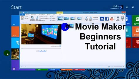 Windows Movie Maker Tutorial For Beginners | youtube tutorial movie maker windows 7 windows movie maker