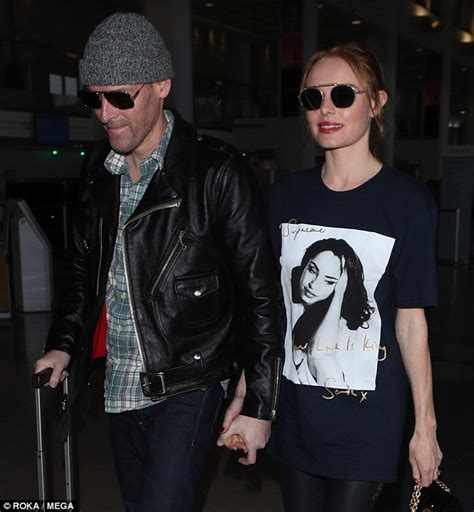 Still Going Strong Despite Baby Drama by Kate Bosworth Rocks Supreme Sade Shirt With Boots At