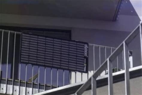solaranlage balkon erlaubt entt 228 uschung 252 ber dke entwurf zu pv balkonmodulen