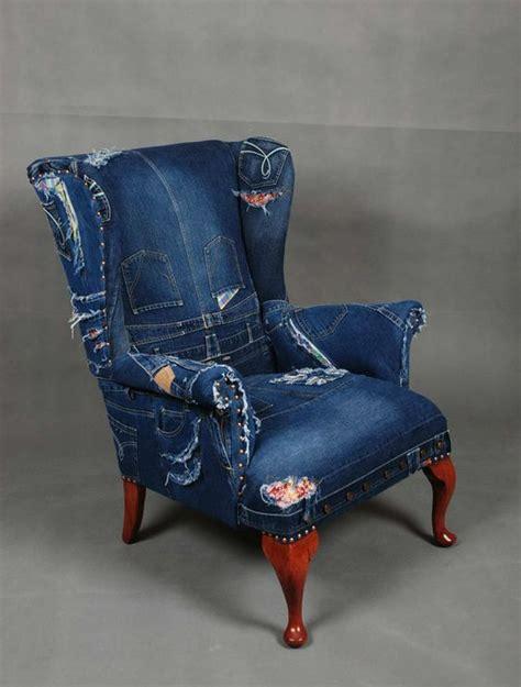 Armchair Upholstery Diy Riciclare Jeans E Arredare Casa 20 Idee Creative