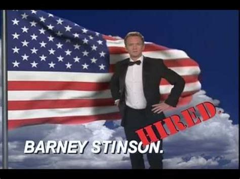 barney stinson resume