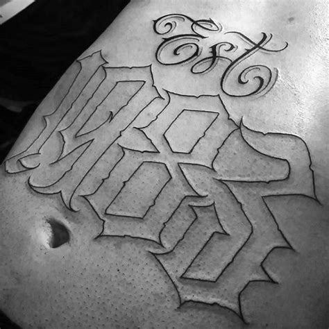 outline tattoos for men 30 est designs for birth year ink ideas