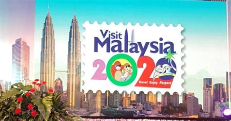 visit malaysia during new year new visit malaysia year 2020 emblem slammed by m sians