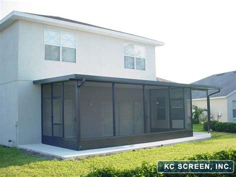 Aluminum Screen Porch Porches Patios For Central Florida Kc Screen
